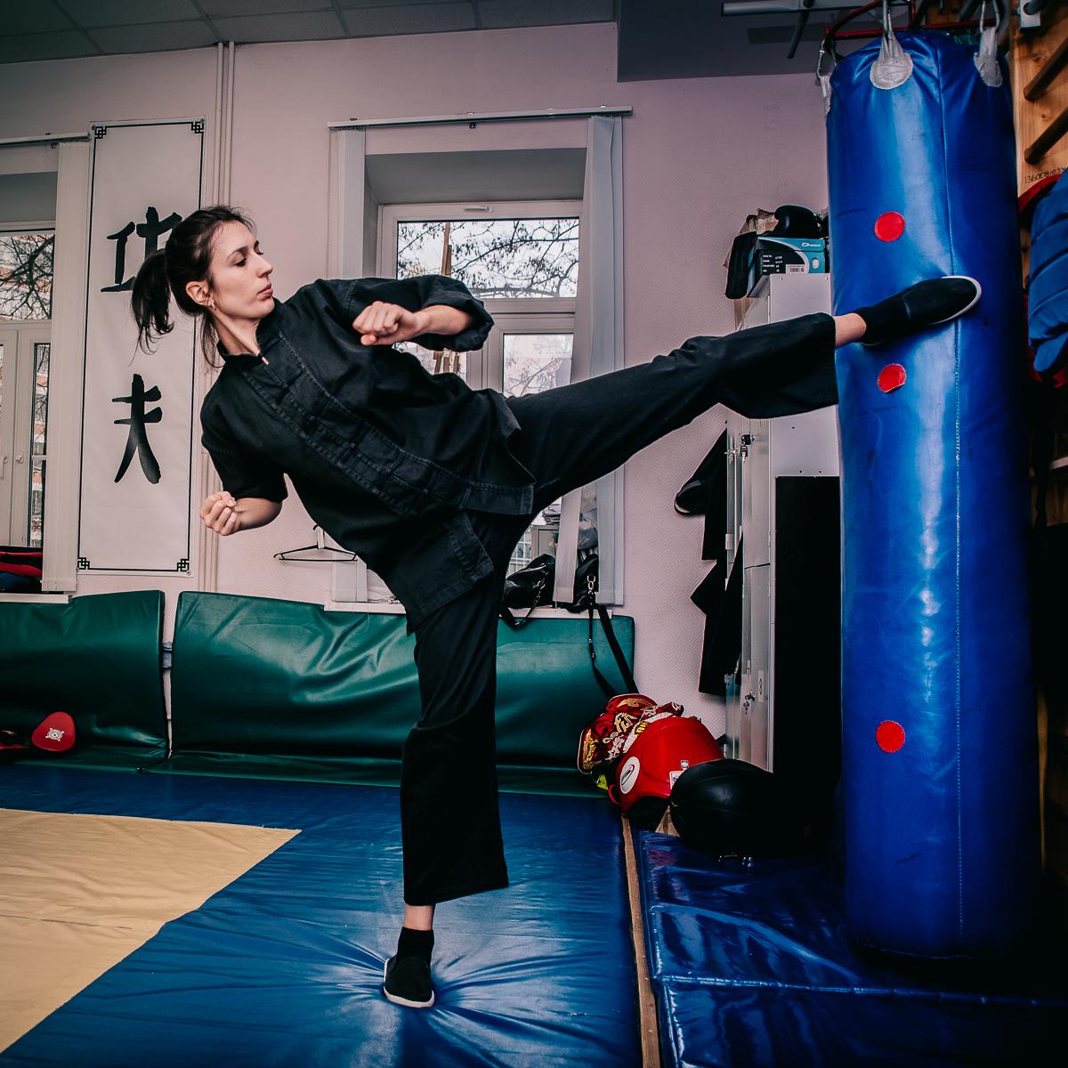 Боевые искусства для девушек в Москве