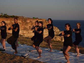 Йога-тур на Черном море. Что вас ждет на практиках йоги в нашем тренировочном лагере