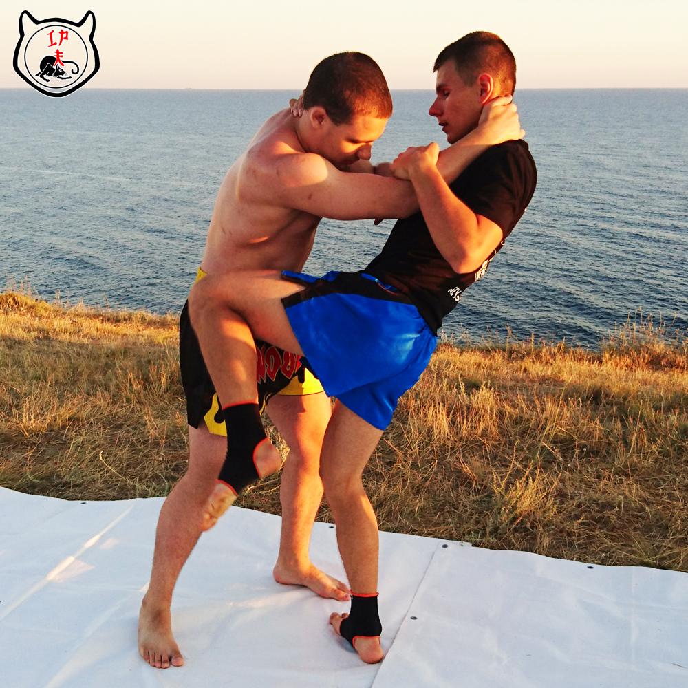 Клинч в тайском боксе