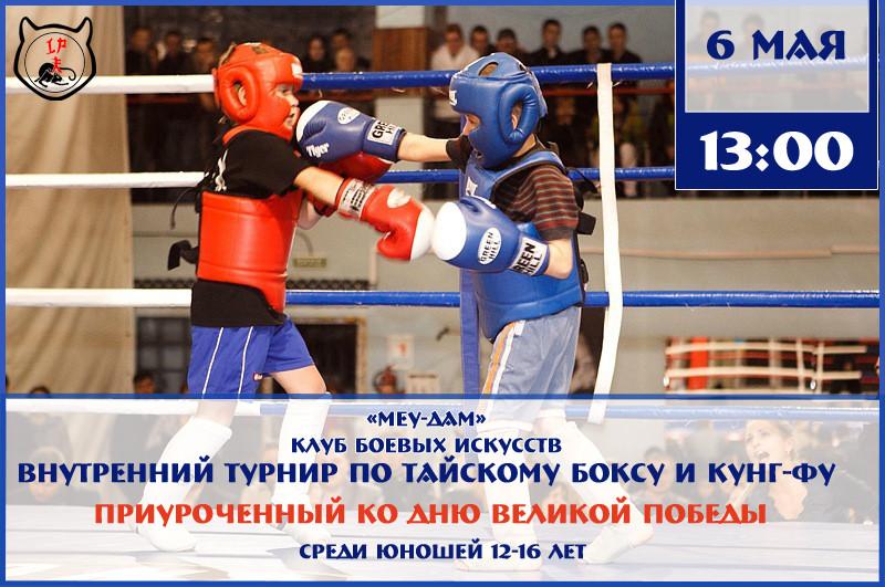 Соревнования по тайскому боксу и кунг-фу