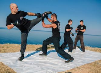 Мастер-класс  по боевым искусствам: тайский бокс, юддха-йога, кунг-фу и работа с традиционным оружие