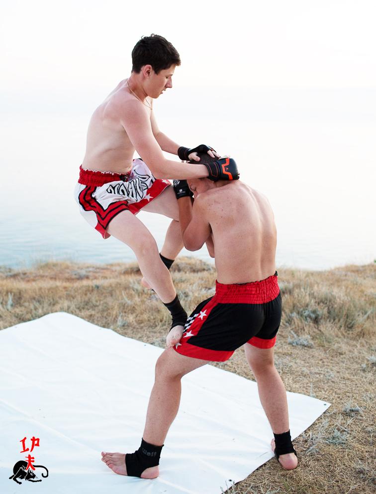 Тайский бокс.