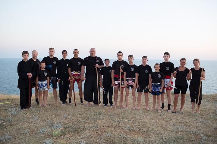 Тренировочный лагерь на Черном море.