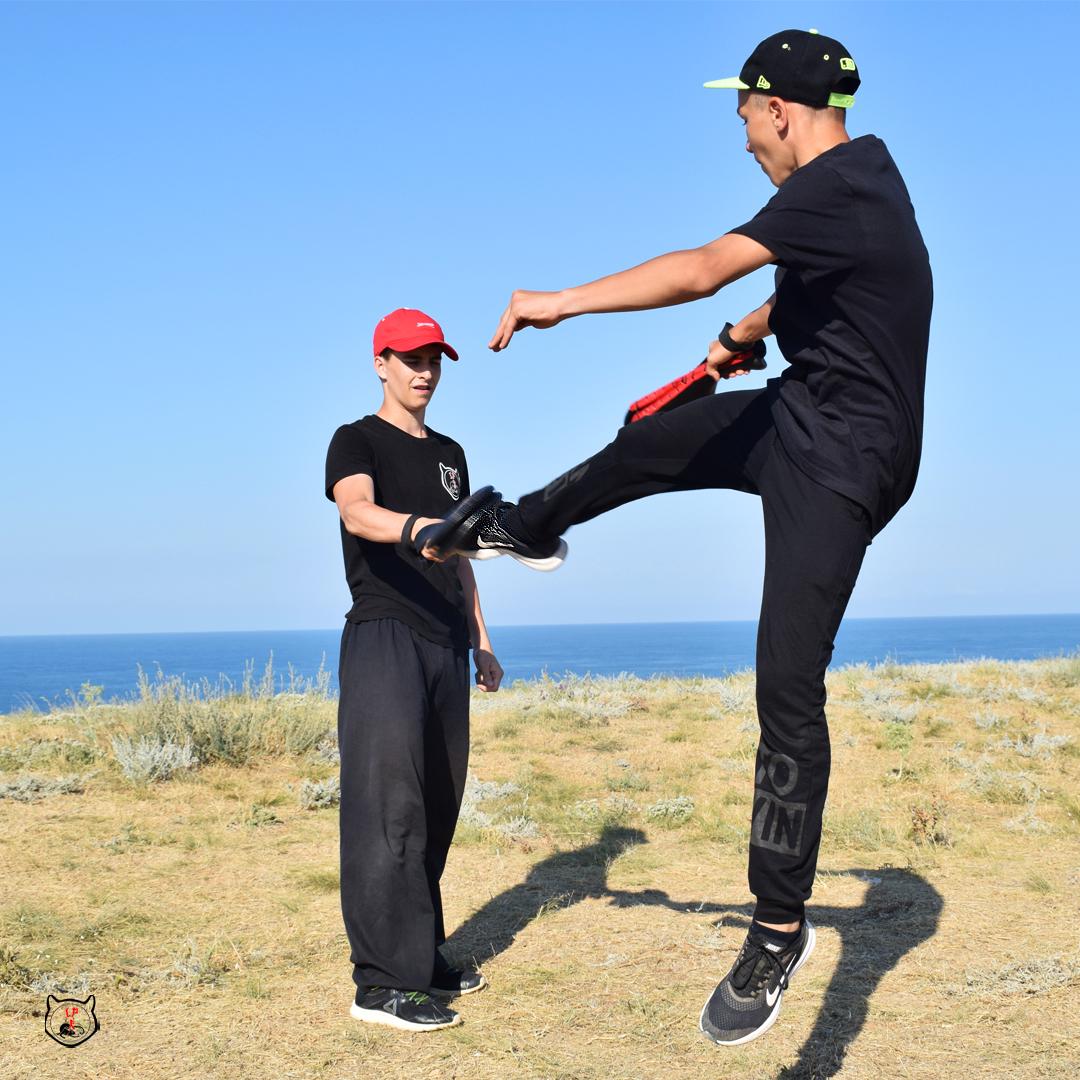 прыжковые удары