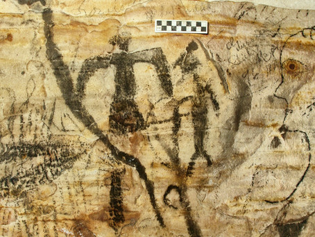 The Ancient Native American Drawings in A Missouri Cave Sold