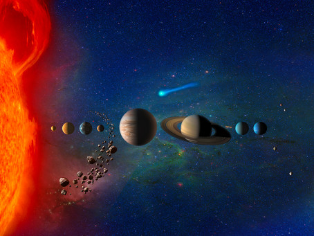 The Early Solar System Was Divided by an Enigmatic Gap in Outer Space