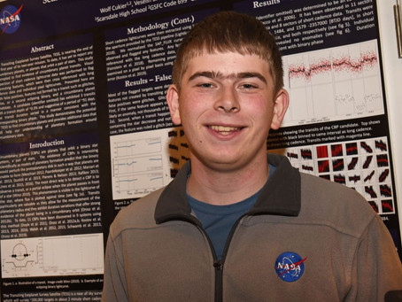 17-year-old Discovers Planet 6.9 Times Larger Than Earth