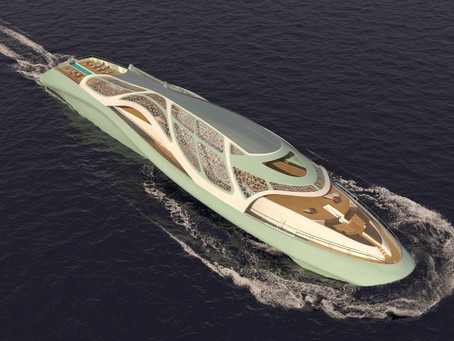 Insane New 256-Foot Superyacht Design Can Also Serve as a Fully Functional Submarine
