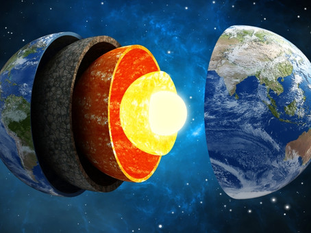 According to some scientists, the core of the Earth is growing in a strange manner