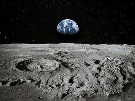 There's water on the Moon and some of it was made by Earth