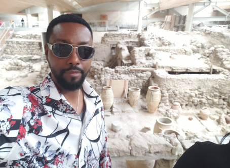 The Lost Atlantean City Of Akrotiri In Greece Discovered