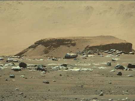 Mars Rover Finds Possible Signs of Life at Landing Site