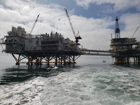Experts predicted a catastrophe when the Orange County oil platforms were built in the 1970s