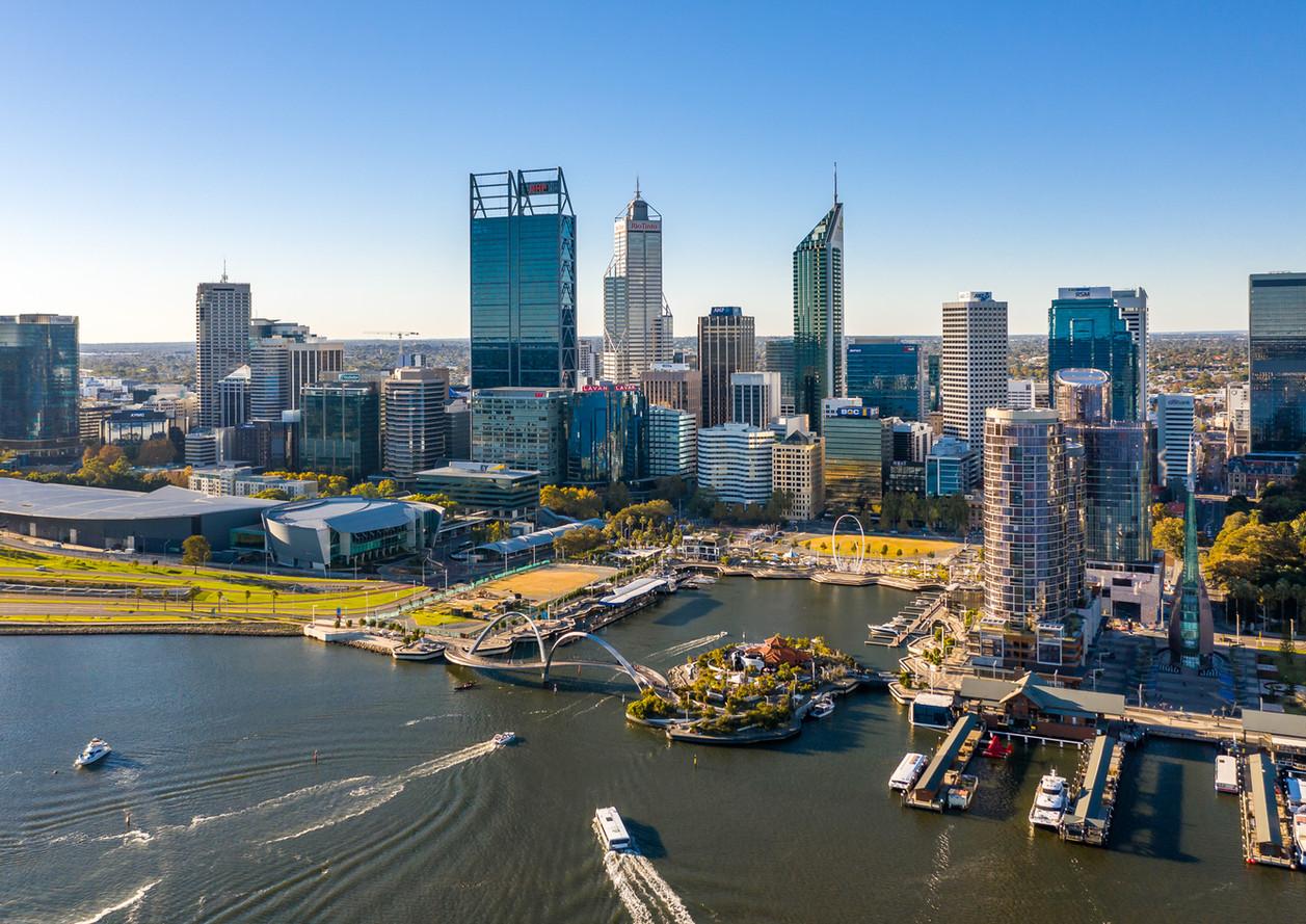 Perth New Port Spanda Drone Architecture Photograph