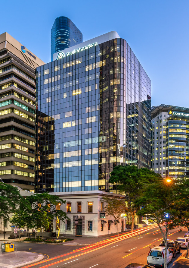 Brisbane CBD, 201 Charlotte St Ground Photograph