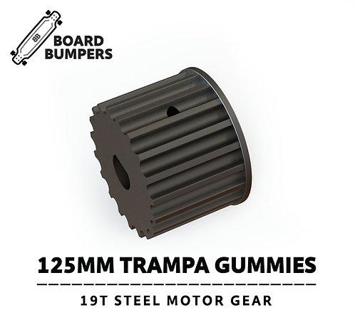 125MM Trampa Gummies 19T Steel Motor Gear Upgrade