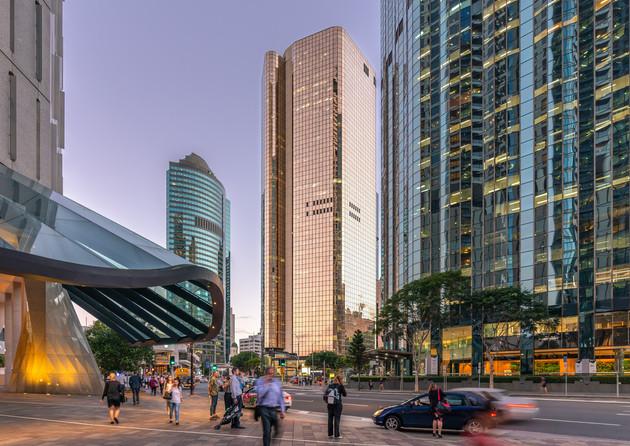 Brisbane CBD, 10 Eagle St Architecture Photograph