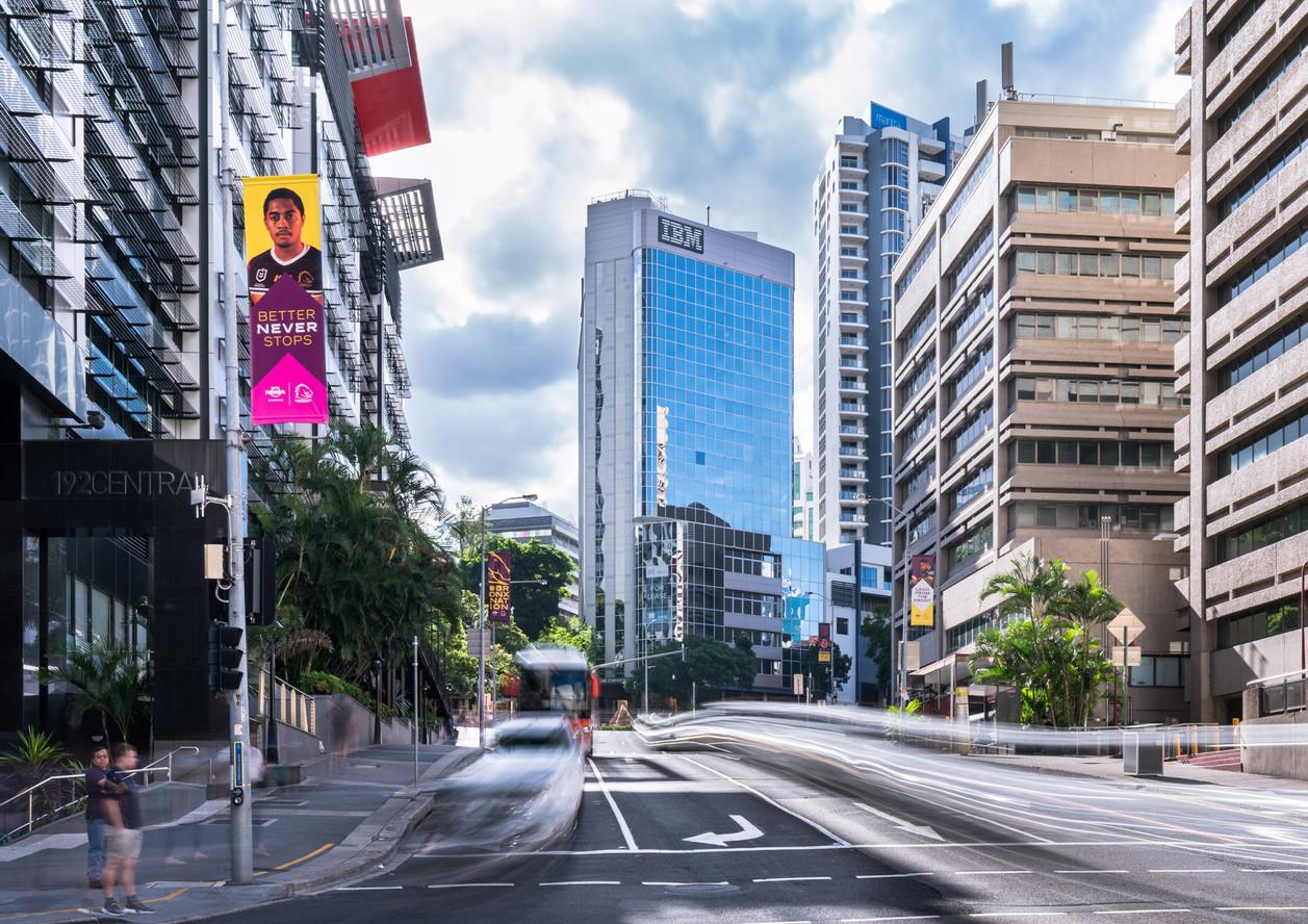 Brisbane CBD Architecture Photograph