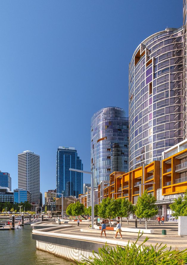 Perth, The Towers Architecture Photograph