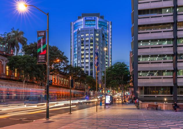 Brisbane CBD, 310 Ann St Ground Photograph
