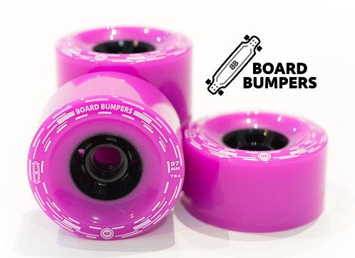 Pink Board Bumpers 97mm 78a Flywheels