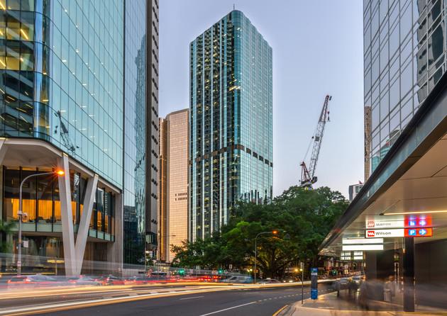 Brisbane CBD, 12 Creek St Architecture Photograph
