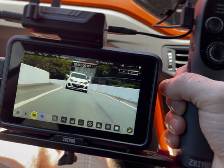 6 AXIS STABILIZED VEHICLE MOUNT - The RAW Road Rig