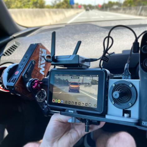 RAW Road Rig Vehicle Car Mounted Camera