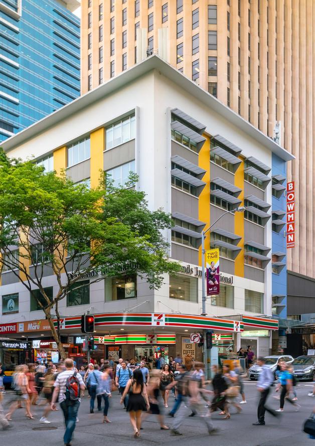 Brisbane City, 276 Edward St - Ground -