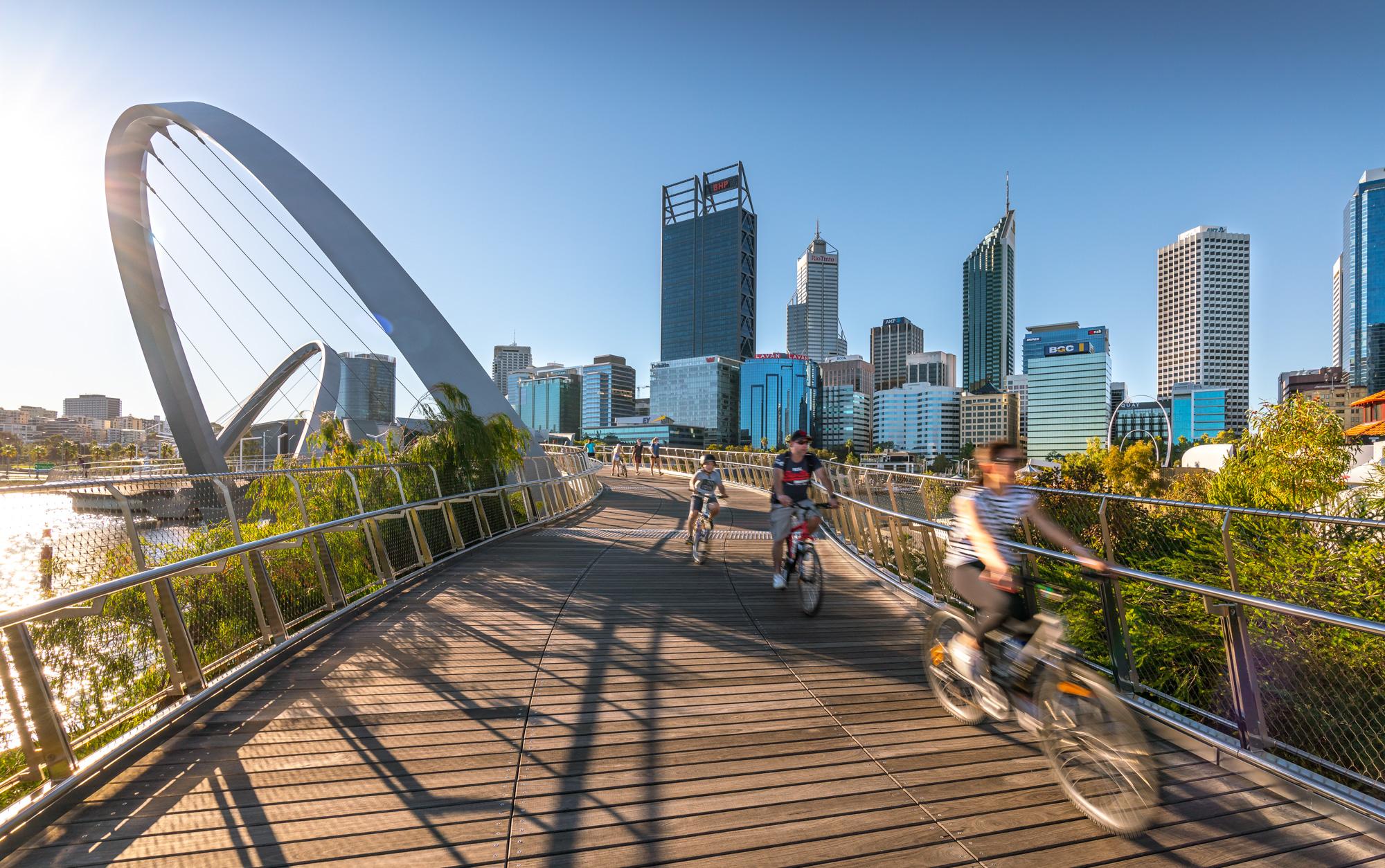 Elizabeth Quay Bridge Lifestyle