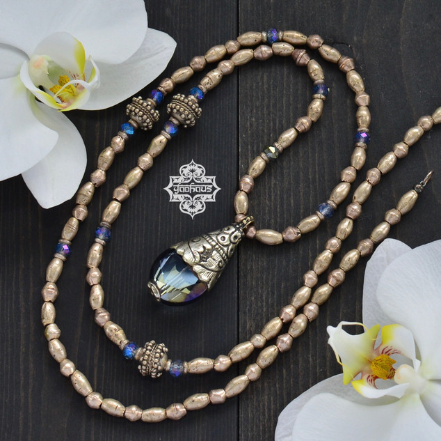 Nepalese Ice Blue Crystal