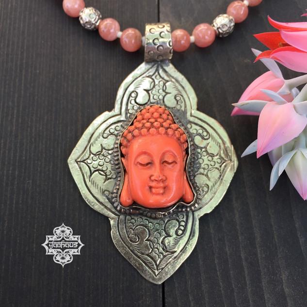 Coral Resin Buddha