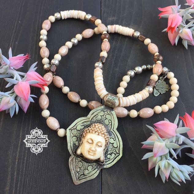 Cream Resin Buddha