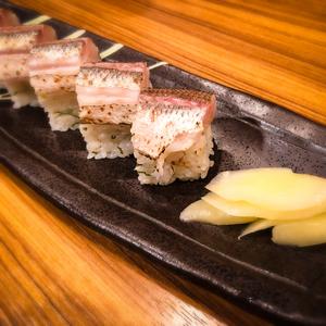 カマスの棒寿司