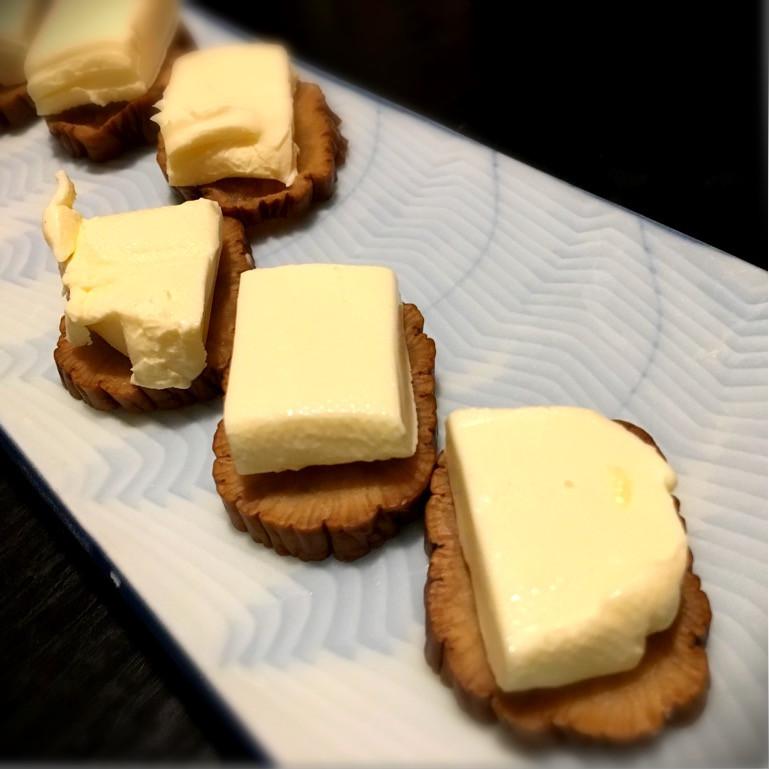 いぶりがっこクリームチーズ