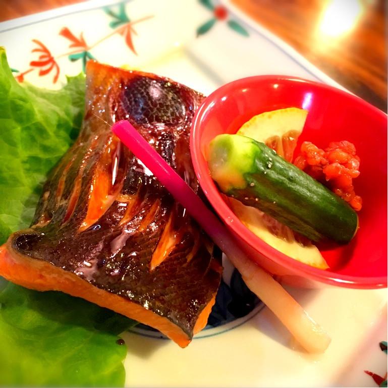 鱒の西京漬焼き