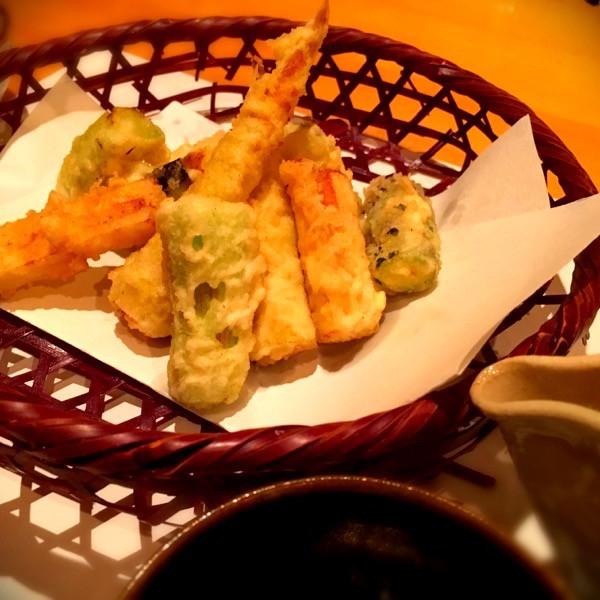 笹竹の天ぷら