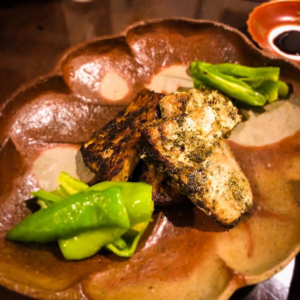 メカジキのバジル焼き