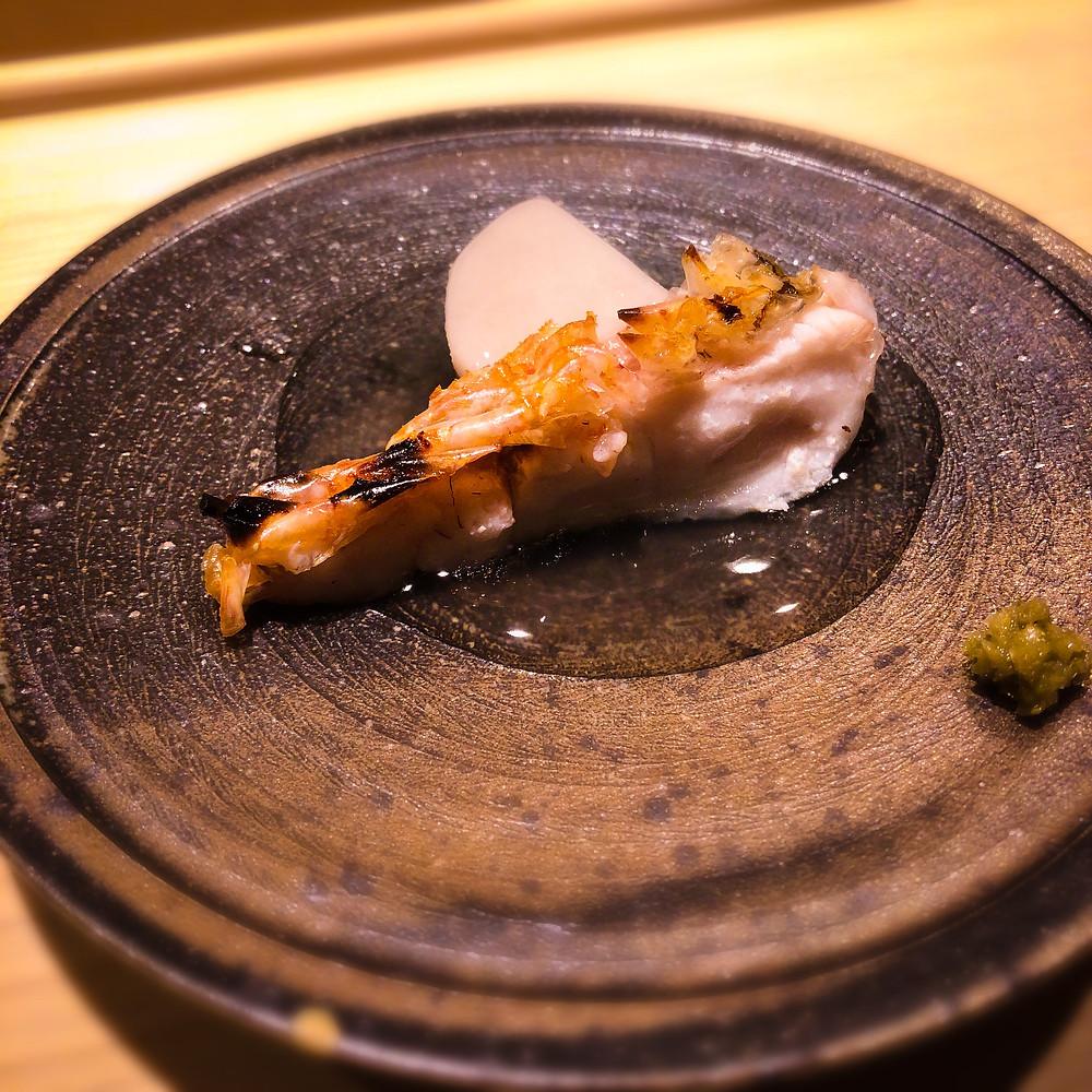 甘鯛と海老芋