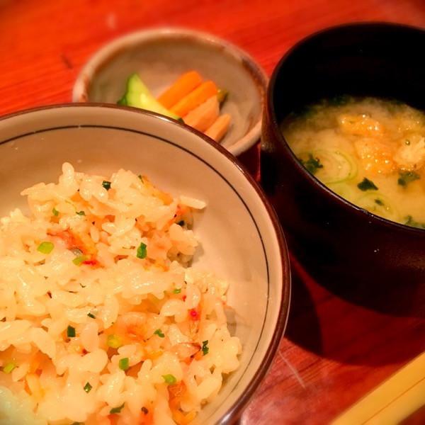 桜海老炊き込みご飯