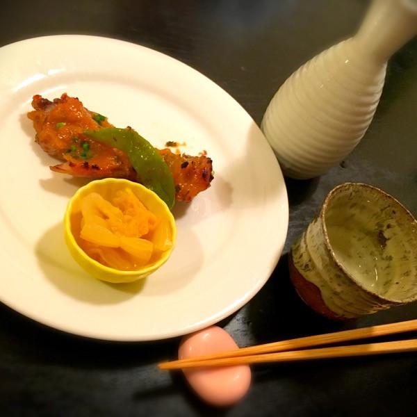 メヌキの野菜味噌焼き