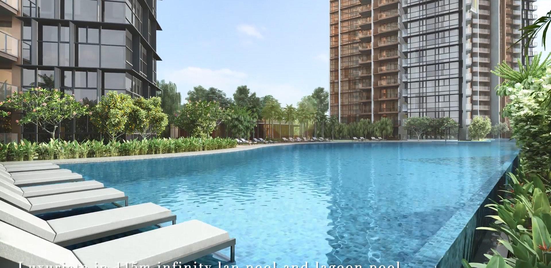 seaside-residences-lap-pool-lagoon-pool.