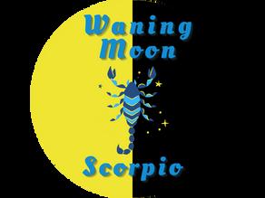 Waning Moon in Scorpio