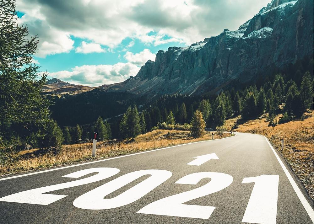 2021, long road, create life map