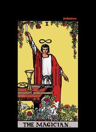Rider-Waite-Smith Tarot Deck, The Magician