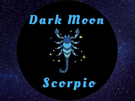 Dark Moon in Scorpio