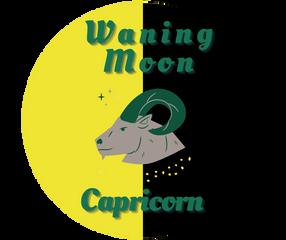 Waning Moon in Capricorn