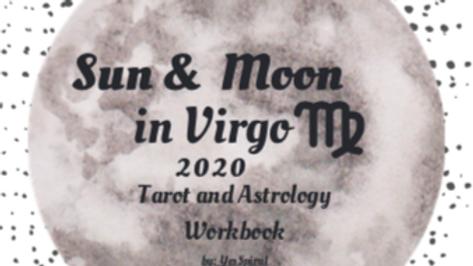 Virgo Moonth Astrology and Tarot Workbook