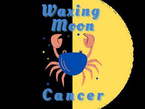 Waxing Moon in Cancer