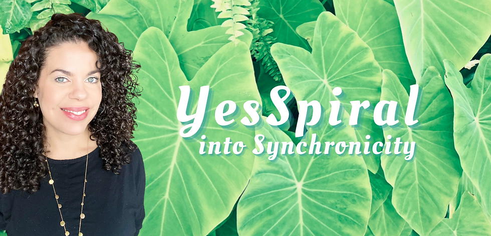 Yes Spiral into Synchronicity Tarot Moon Guide